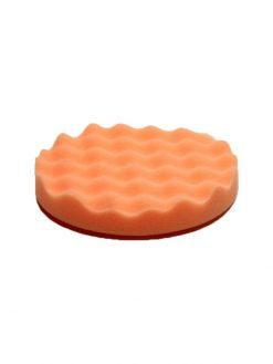Antihologrammschwamm orange gewaffelt 135