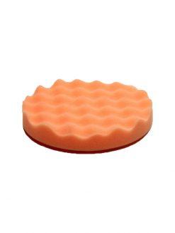 Antihologrammschwamm orange gewaffelt vorn