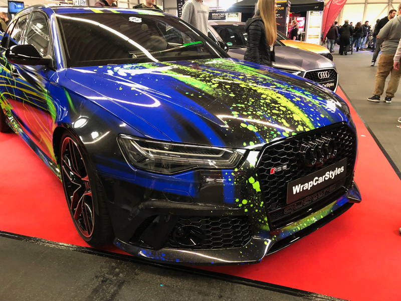 car wrapping audi rs6