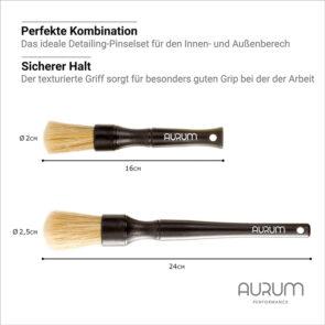 Aurum Essential-Detailing-Pinselset